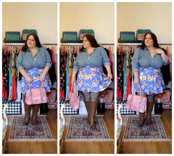 outfit plus size romantico consigli di stile curvy