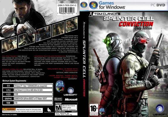 تحميل لعبة Tom Clancys Splinter Cell Conviction برابط واحد مباشر