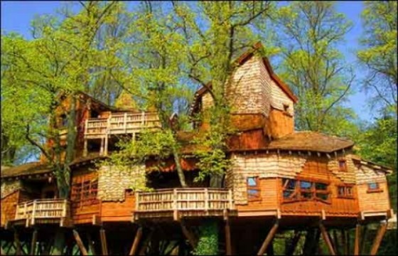 Skepseissss amazing tree houses for Amazing house pictures
