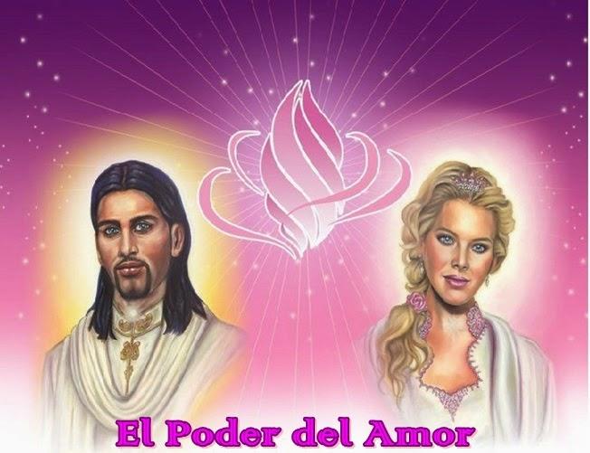 Soy Yo, su Madre Akasha, junto al Maestro Ascendido Señor Emanuel y estamos aquí y ahora con Uds., para hablar del Poder del Amor.