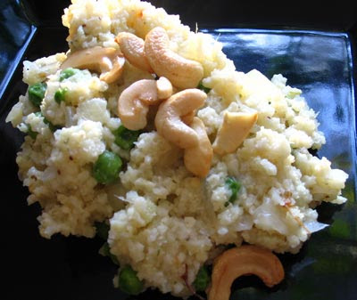 Spicy Indian-Style Millet