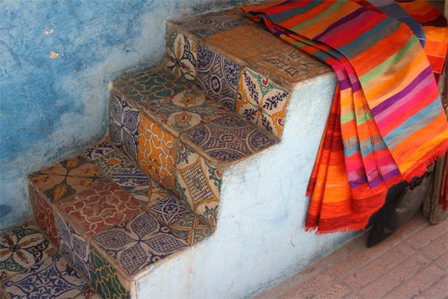 Paysage d'Essaouira Maroc