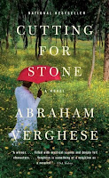 Cover of Cutting for Stone by Abraham Verghese