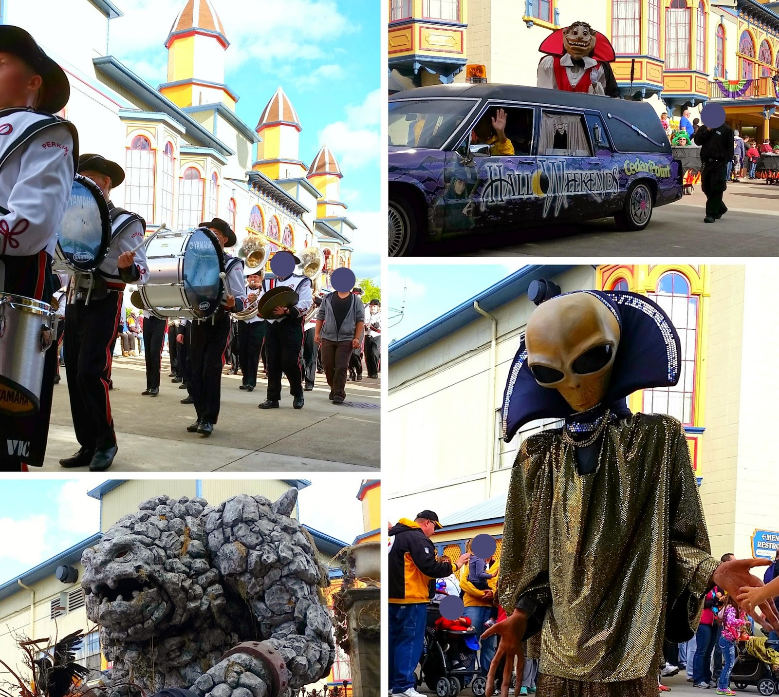#ad Cedar Point Hallo Weekends Parade