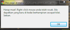 Tutorial Pasang Disable Right Click Pada Blog