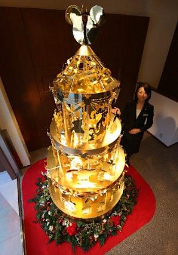 Pohon Natal Dari 40 Kg Emas Seharga Rp 40 Miliar [ www.BlogApaAja.com ]