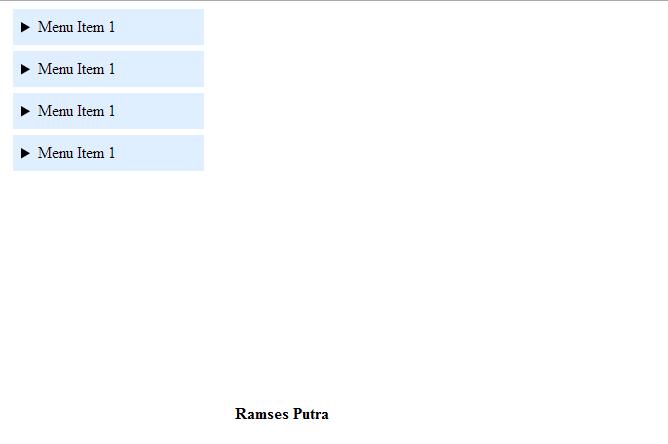 Membuat dropdown menu dengan HTML 5 dan CSS 3 | Bahasa
