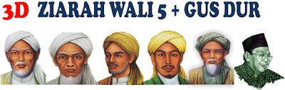 PAKET TOUR ZIARAH 5 WALI + GUSDUR