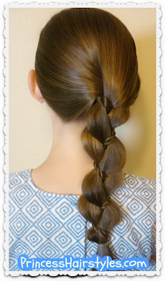 Easy video tutorial, braid with a twist