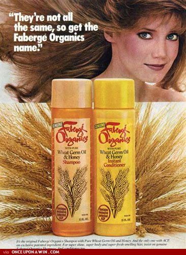 Frock of Ages: 80'S FABERGE ORGANICS SHAMPOO COMMERCIAL W ...