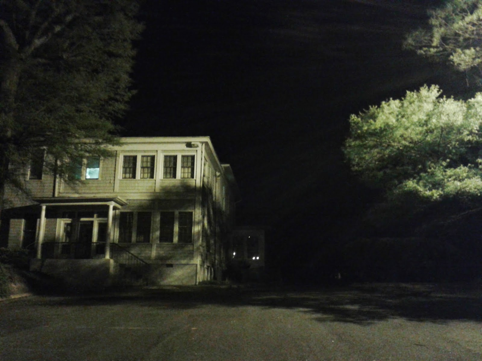 Floodlit House By Christopher Kyba Is Licensed Under A. Creative Commons  Attribution 4.0 International License.