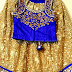 Gold Color Brasso Lehenga