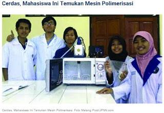 5 Mahasiswa Cerdas Penemu Mesin Polimerisasi