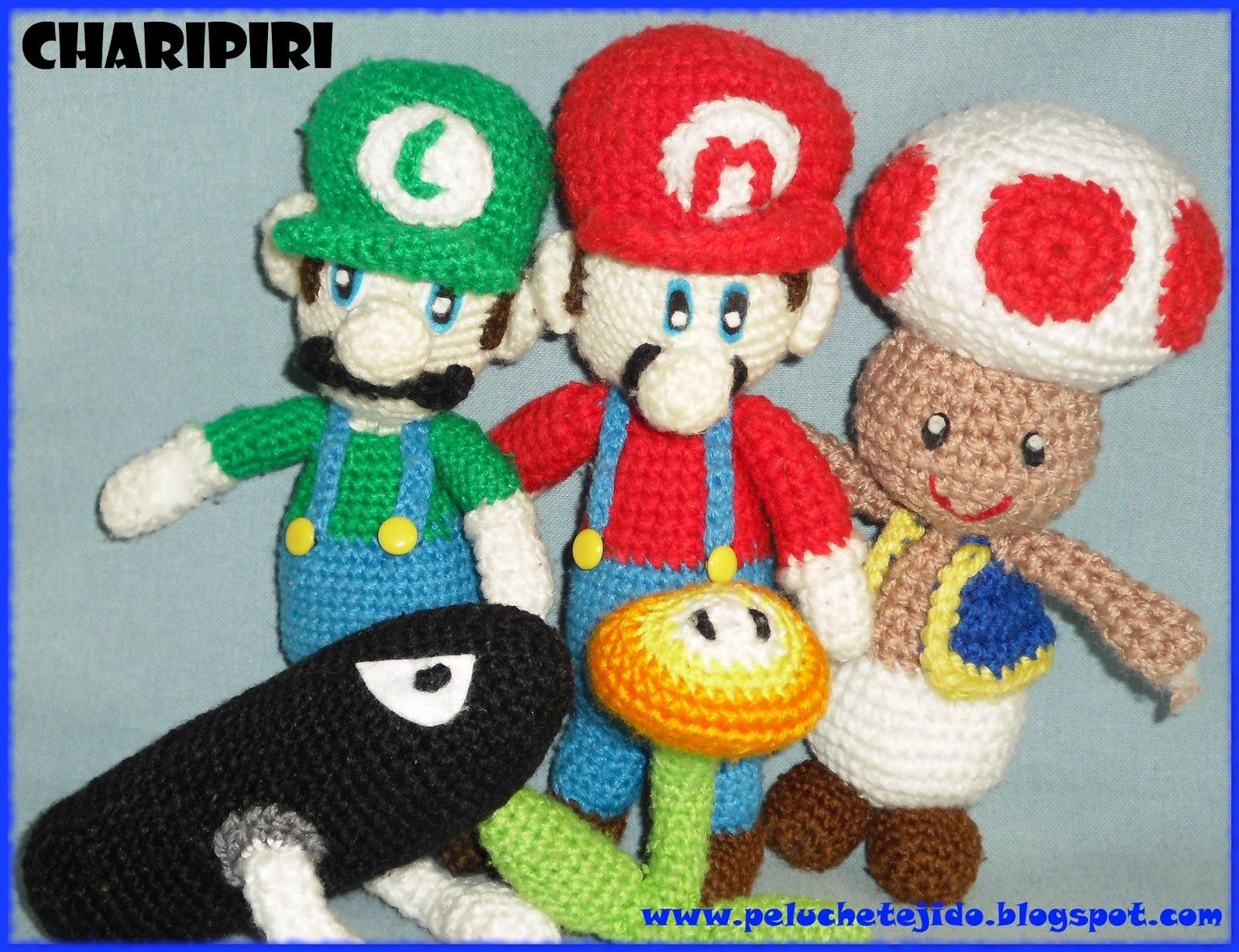 Patron Amigurumi Mario Bros En Espanol : Amigurumis en espanol: Mario Bros amigurumi con patron en ...