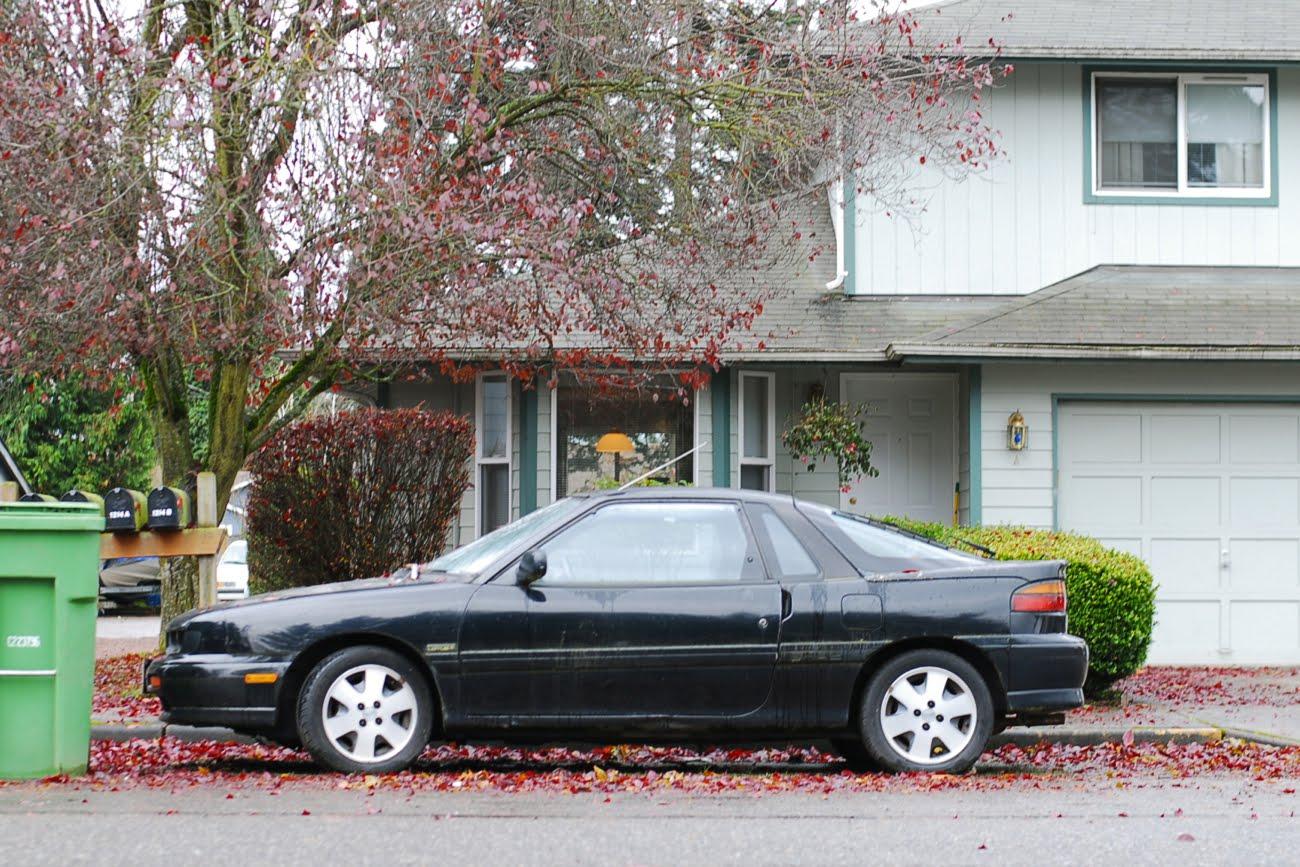 old parked cars 1991 isuzu impulse rs turbo. Black Bedroom Furniture Sets. Home Design Ideas
