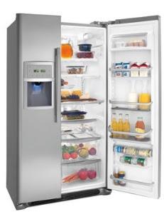 refrigerador, refrigeradora, refrigerador con comida, refrigerador abierto, problemas con el refrigerador, porque mi refrigerador no enfría