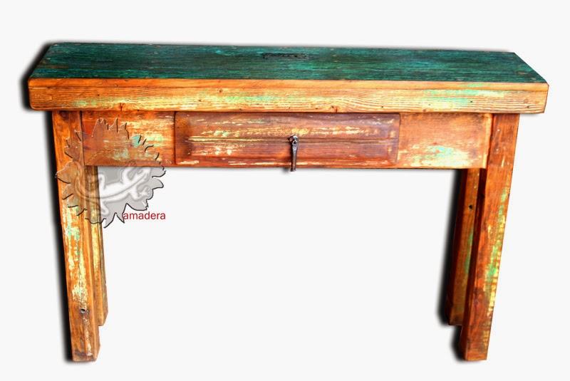 amadera meuble et d coration le charme thique du mexique authentique meuble mexicain console. Black Bedroom Furniture Sets. Home Design Ideas