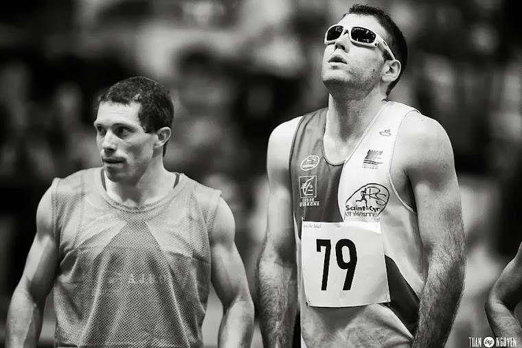 Raphael et son entraîneur Cyril Nivault
