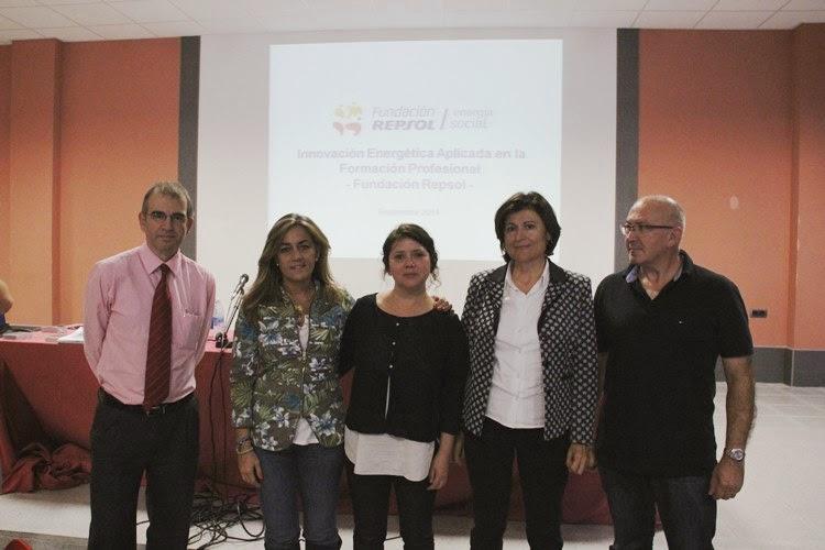 Fundación Repsol presenta en Muskiz la 1º Convocatoria de Proyectos de Innovación Energética Aplicada a la FP