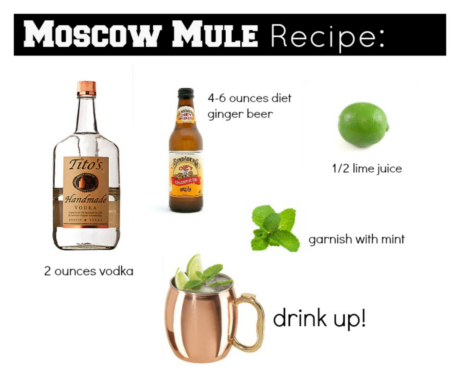 Vodka Drink Moscow Mule
