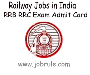 RRC SR Chennai E.No 01/2012 Grade Pay Rs.1800 Recruitment Written Examination Admit Card, Syllabus, Previous Years Solved Question Papers 2013