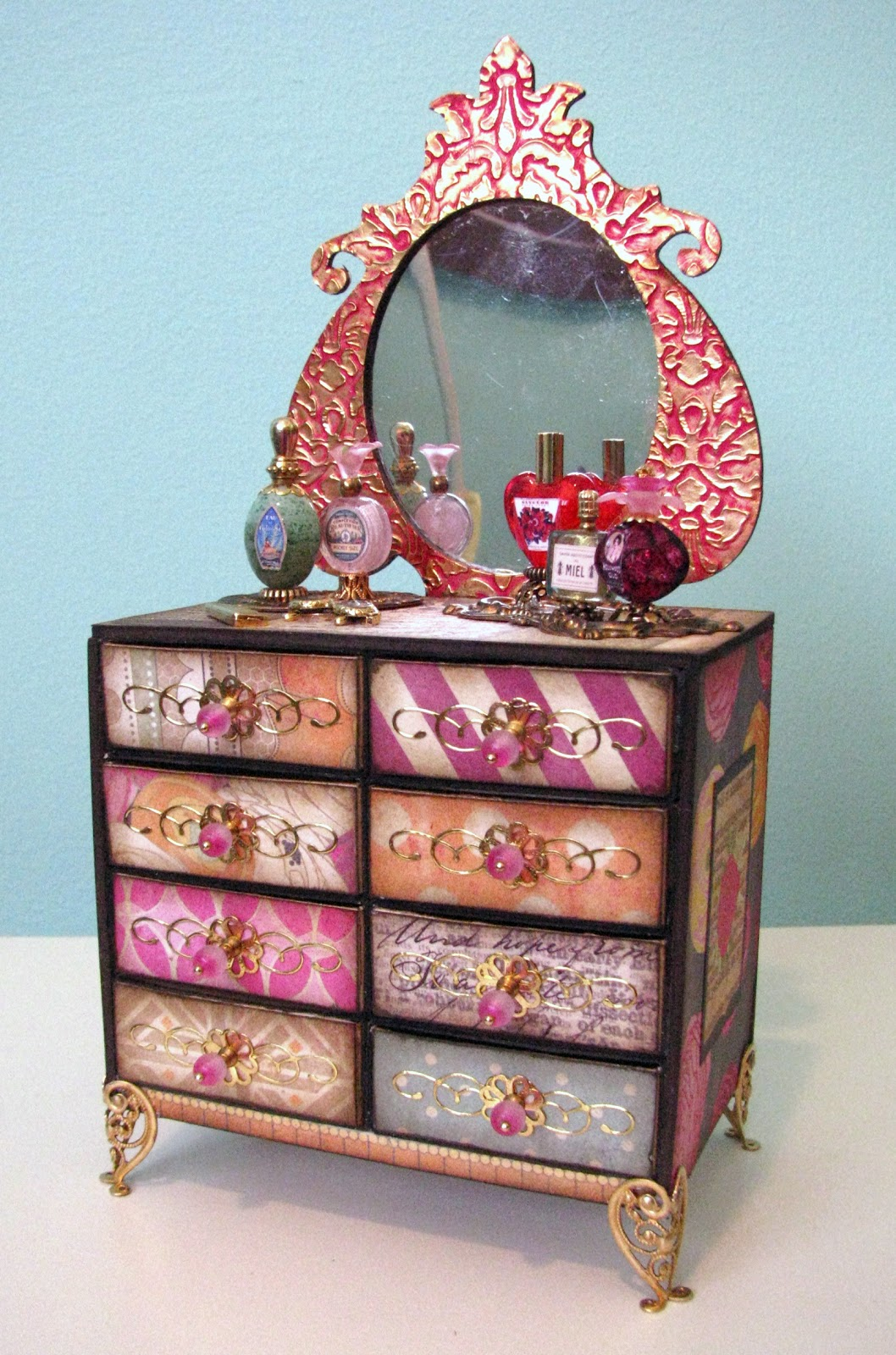 The sum of all crafts don 39 t throw out your matchboxes for Young house love dollhouse