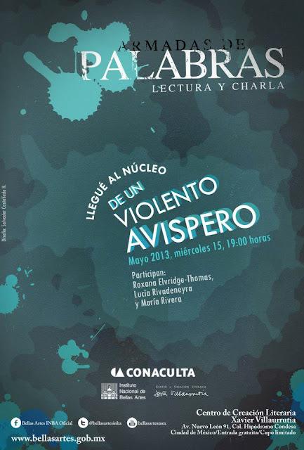 """La charla Armadas de Palabras presenta """"Llegué al núcleo de un violento Avispero"""" en el CCLXV"""