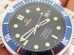OMEGA SEAMASTER PROFESSIONAL CO AXIAL CHRONOMETER 300 METER BLUE DIAL - OMEGA DIVER JAMES BOND 007