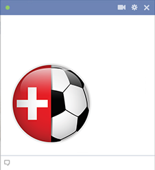 Swiss football emoticon