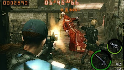 Resident Evil Mercenaries 3DS Screen