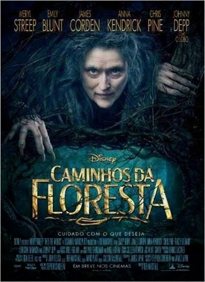 Baixar Caminhos da Floresta AVI DVDScr + Legenda + RMVB Legendado Torrent