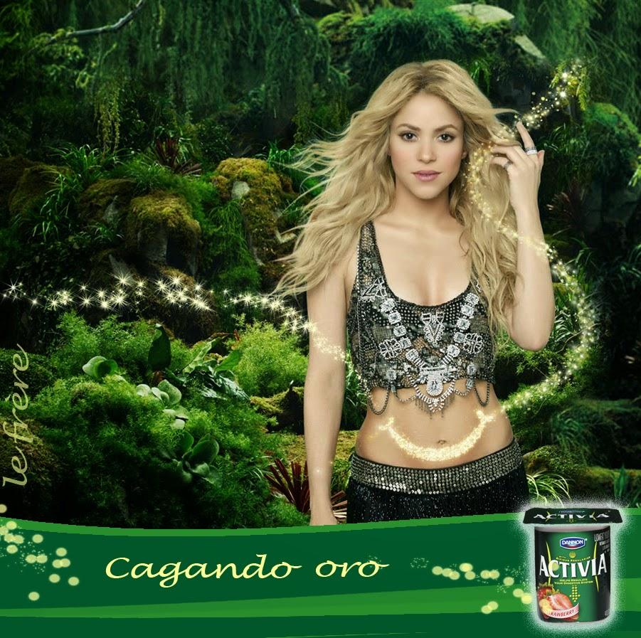 """""""Activia"""", """"danone"""", """"Shakira"""", """"yogurt"""""""