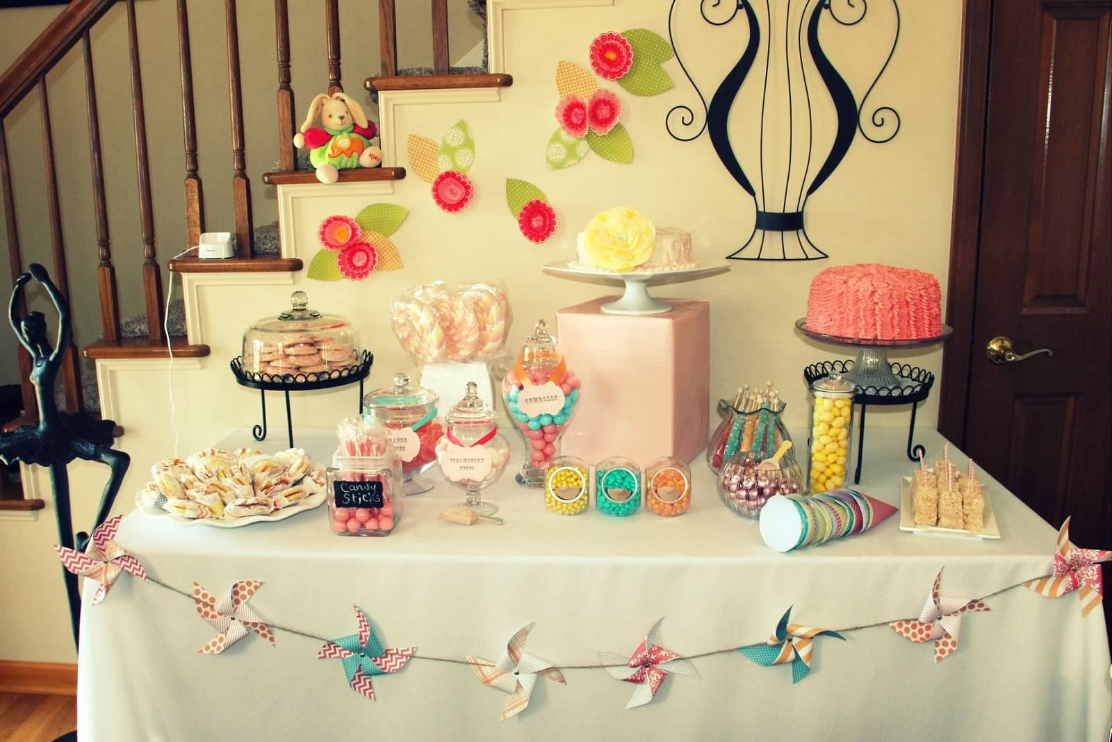 itty bits vintage circus baby shower