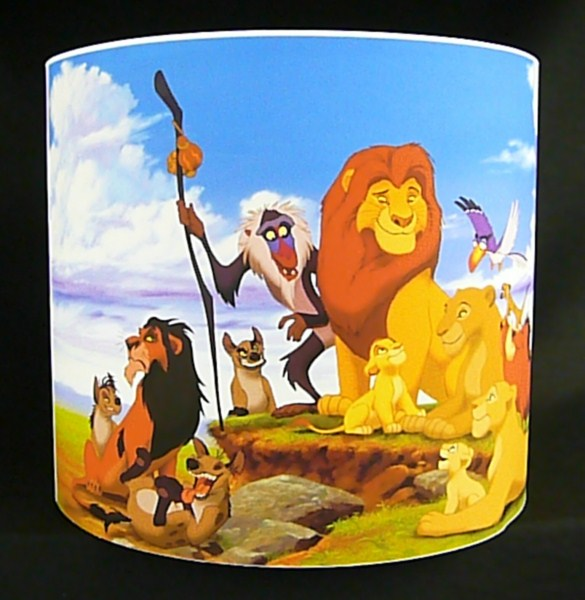 46) The Lion King Lamp Shade: Itu0027s The Circle Of Life. No, Itu0027s A Circle Of  Light. Oh Wait...itu0027s Both!