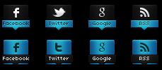 Iconos Sociales con efecto Cambiante en Blogger