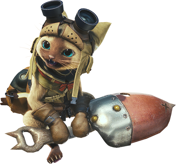 28 Games Later A Closer Look At Palicos In Monster Hunter World