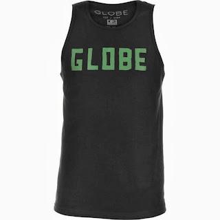 camiseta regata globe