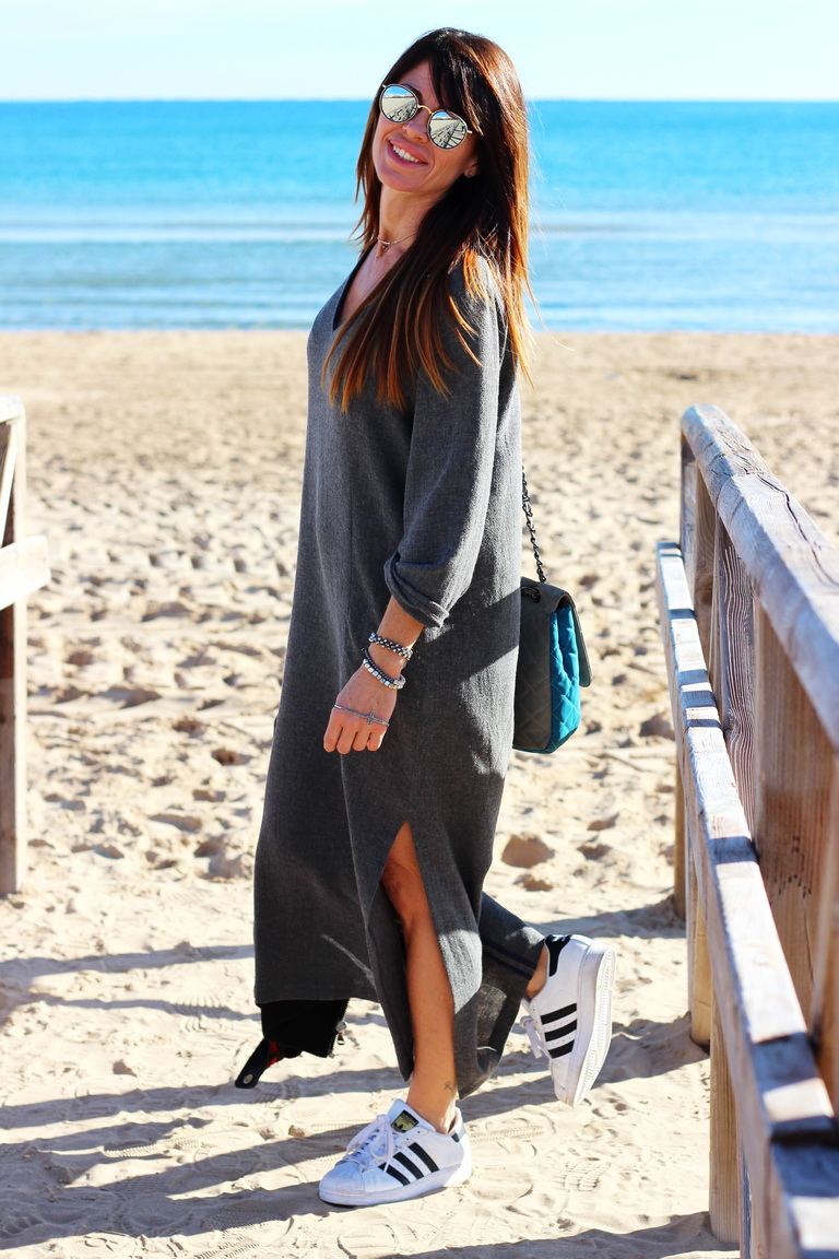 Fashion blogger, streetstyle, winter 2015, adidas, koralline, zara