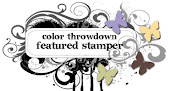 Featured Stamper at Colorthrowdown Challenge  #186