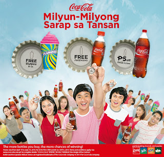 Milyon Milyon Promo Coca Cola, Coca Cola Philippines Promo, Promotion