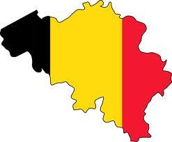 Belgium-Flag map