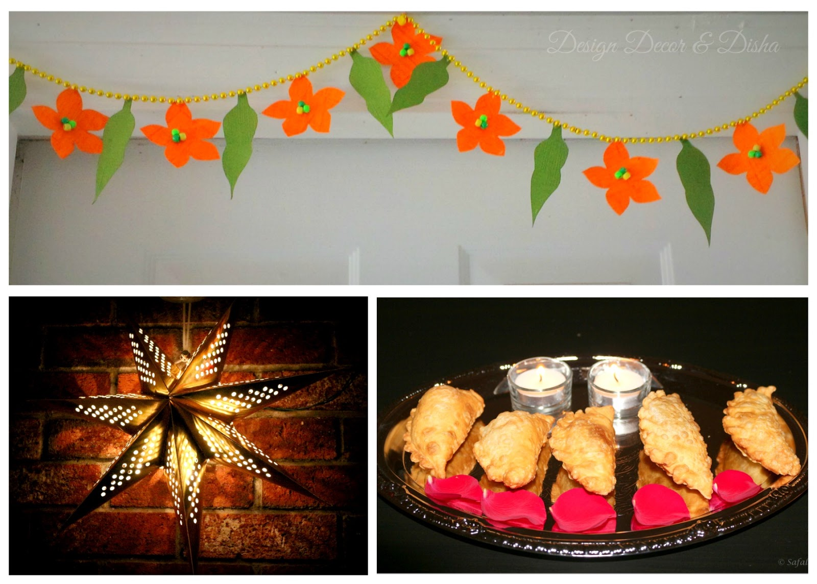 Design decor disha an indian design decor blog photo flashback diwali moments of 3d readers Home made decoration items for diwali