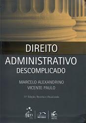 Download Grátis - Livro - Direito Administrativo Descomplicado (Marcelo Alexandrino & Vicente Paulo