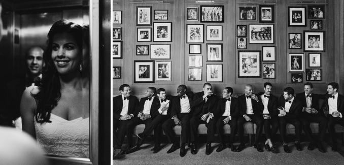 black and white photos in the iconic raleigh hotel