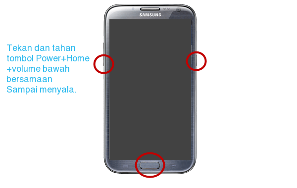 Cara root Android Samsung Galaxy S3 (GT-I930x, SHV-E210*, SHW-M440S)