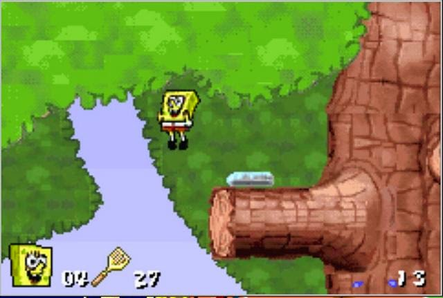 game online Spongebob Squarepants Supersponge