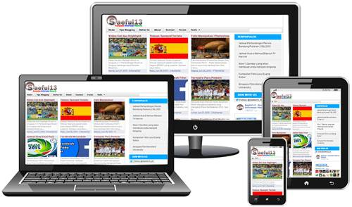 Saeful13 Redesign and Go Responsive