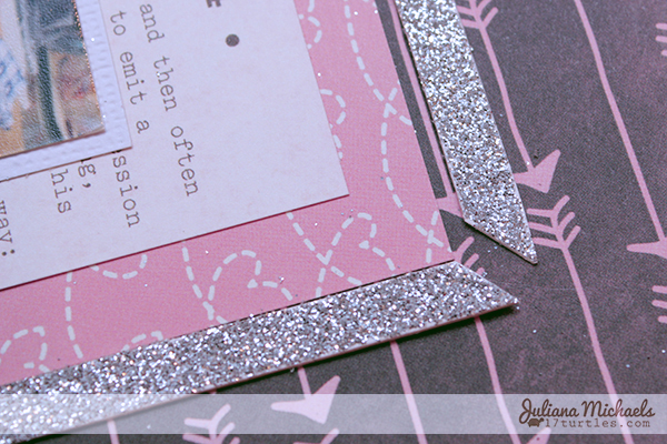 Glitter Frame Tutorial by Juliana Michaels