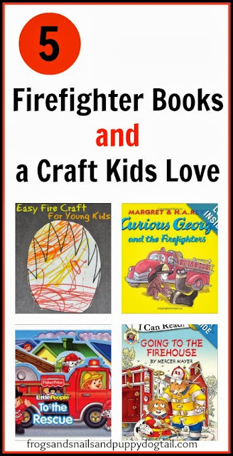 Firefighter Books and Easy Fire Craft/Coloring sheets... by FSPDT