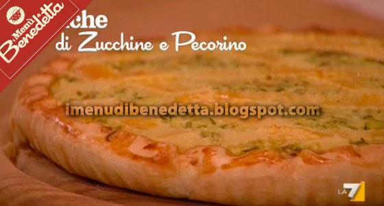 Quiche Zucchine e Pecorino di Benedetta Parodi